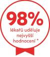 98% lékařů uděluje nejvyšší hodnocení